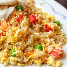Simple Chinese Chicken Fried Rice recipe is simple and quick. Serve for lunch or dinner.. Chinese Chicken Fried Rice Recipe from Grandmothers Kitchen.
