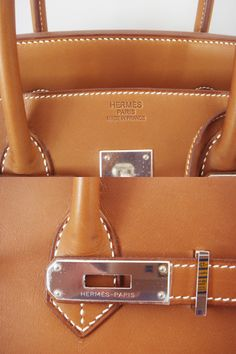4835dd790b3d HERMÈS  Authentic Hermes Birkin 35 Barenia Palladium Hardware Bag Phw New