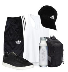 """""""Gym Time!...........Jk"""" by bubbythenarwhal ❤ liked on Polyvore featuring adidas Originals, Athleta, adidas and Patagonia"""