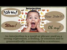 The Interjection Song - YouTube