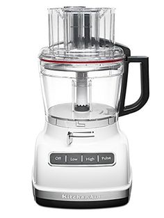 KitchenAid KFP1133WH 11-Cup Food Processor with Exact Slice System - White * Learn more by visiting the image link. #FoodProcessors