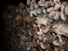 Paris Catacombs - Beneath Paris' City Streets, There's an Empire of Death