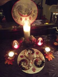 Altars:  Blood Moon #Altar.