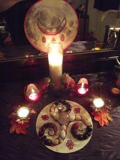 Altars:  Blood Moon #Altar.