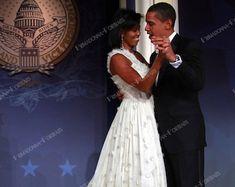President Barack Obama & First Lady Michelle With Daughters | Etsy Barack Obama Family, Malia And Sasha, Nasa Photos, Nasa History, Old Time Radio, Historical Images, Girl And Dog, Michelle Obama, Classic Hollywood