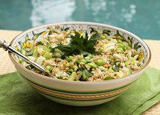 Primavera Insalata Farro Con Finocchio  (sping farro salad with fennel)