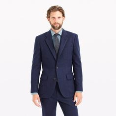 Ludlow fielding suit jacket in water-resistant Italian wool : the liquor store | J.Crew