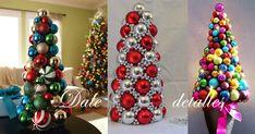 Árbol+navideño+con+esferas