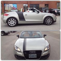Audi TT got some matte black wrap to get R8 look. It came up amazing by GTA CAR WRAP. Call us today at 1-844-404-WRAP (9727)