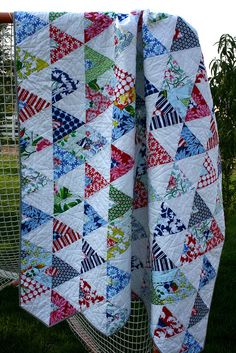 Flags Quilt II... Another awesome pattern from American Jane!