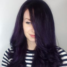 Deep Violet and Black Melt