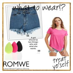 """""""Romwe #14"""" by zerina913 ❤ liked on Polyvore featuring romwe"""