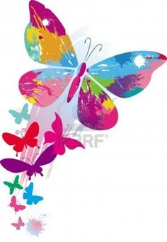 Set of Vector Colorful Butterflies background 01 Butterfly Background, Butterfly Wallpaper, Butterfly Painting, Butterfly Art, Wallpaper Backgrounds, Iphone Wallpaper, Wallpapers, Art Papillon, Butterfly Pictures