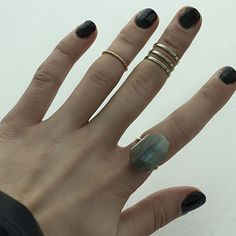 Geometric Cocktail Ring | 41 Amazing Free People-Inspired DIYs