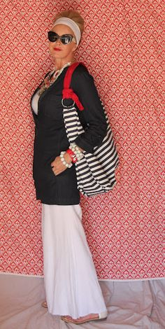 Tamera Beardsley - add stripes or dots or both to any outfit... just to see how it looks