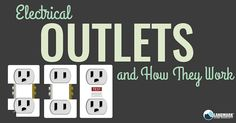 Learn more about the different outlets in your home.