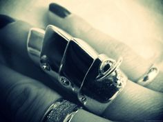 I love armor rings and this one is from Vivienne Westwood.