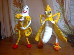 Вязунчики нового года | biser.info - всё о бисере и бисерном творчестве