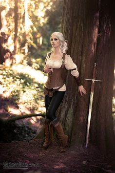 Ciri from The Witcher 3 Cosplay http://geekxgirls.com/article.php?ID=8077