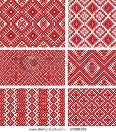 Folk Embroidery more romanian embroidery patterns Embroidery Motifs, Diy Embroidery, Cross Stitch Embroidery, Embroidery Designs, Just Cross Stitch, Cross Stitch Borders, Cross Stitch Patterns, Textile Patterns, Print Patterns