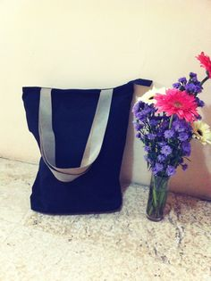 Totebag linen black colour with leather strap  size 35 cm x 40 cm x 10 cm price IDR 180.000 cp: +62 81227800577