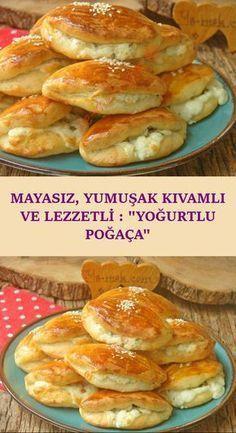 Pastry Recipes, Paleo Recipes, Dessert Recipes, Delicious Donuts, Yummy Food, Desayuno Paleo, Paleo Donut, Buttery Rolls, Turkish Recipes