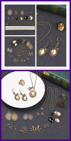 Black Cat Pumpkin Verre Cabochon Tibet Silver Bangle Bracelets Fashion
