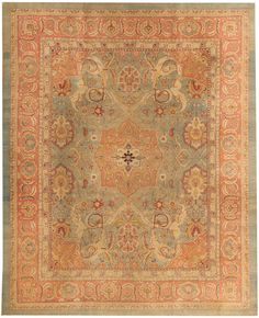 Antique Agra Oriental Rugs 43693 Main Image - By Nazmiyal