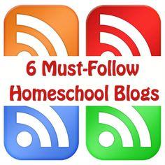 6 Must-Follow Homeschool Blogs