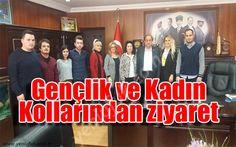 CHP Zonguldak Kadın kollarından ve Gençlik kollarından ziyaret..