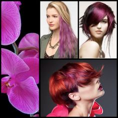 Hair Color How-To: Inspiration & Formulation For Radiant Orchid, Pantone's Color of the Year | StyleNoted