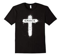 Amazing Grace Christian Cross Tee - Male Small - Black Shoppzee Amazing Grace Tee http://www.amazon.com/dp/B01808G8OU/ref=cm_sw_r_pi_dp_.q7Swb13CFH9T