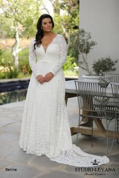 Plus size wedding gowns 2018 Seline (2)
