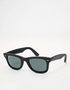 932420c8ec7 Ray-Ban Wayfarer Leather Polarised Sunglasses Heart it on Wantering and get  an alert when it goes on sale.