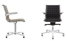 Kancelářské křeslo Sit on It - jednací verze s kluzáky nebo kolečky