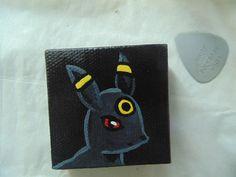 Handmade Umbreon Pokémon magnet available at yumjellydonuts.etsy.com