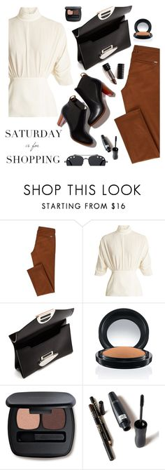 """Shopping might be fun today!"" by juliehooper ❤ liked on Polyvore featuring Emilia Wickstead, Proenza Schouler, Kat Von D, Bare Escentuals, Givenchy, ootd, polyvoreeditorial and saturdayisforshopping"