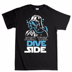 Join the dive dark side #scuba #diving underwater new t #shirt , View more on the LINK: http://www.zeppy.io/product/gb/2/271999067842/