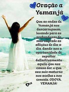 Ifa Religion, Yemaya Orisha, Inspirational Message, Gods And Goddesses, Ancient History, Good Vibes, Wicca, Book Of Shadows, Namaste