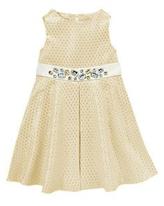 Gem Brocade Dress from Gymboree in sizes 3 through 12. Swap out the sash?