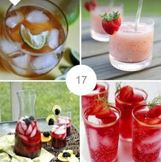 Enjoy both alcoholic and non-alcoholic beverages in this collection from Jenn of Not Without Spice!