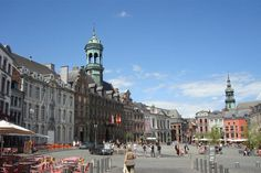 "Downtown Mons, Belgium...many memories...great gyros, ""American Bar"", Mons monkey, hip hop store, great Italian food..."