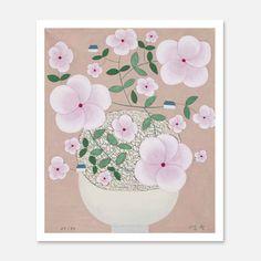 Pattern Illustration, Pencil Illustration, Korean Crafts, Tropical Flowers, Colored Pencils, Folk, Tapestry, Drawings, Artwork