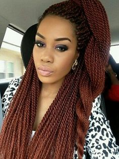 Twist Hairstyle Alluring Blue And Black Senegalese Twist  Hair  Pinterest  Protective
