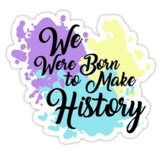 Born to make history by twintelepathy