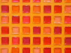 Pink and Orange Square Stickers Orange Bathrooms, Orange Square, Orange Color, Orange Yellow, Colour, Soap Shop, Orange Design, Orange Crush, Coral