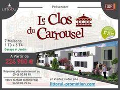 7 maisons avec jardin et garage à saisir à Royan ville balnéaire de la Charente Maritime. Visitez notre site web: http://www.groupe-littoral.com/