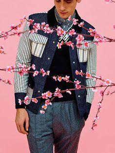 メゾン キツネ 2016年秋冬メンズコレクション - 日出ずる国への愛が立ち昇る | ニュース - ファッションプレス