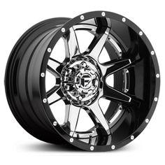 Fuel D237 Rampage  Wheels Chrome