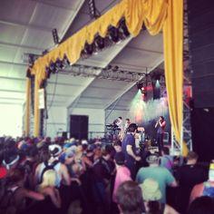 The Dirty Guv'nahs kicking off Bonnaroo 2012 at This Tent.